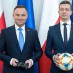 Prezydent Duda powołał reprezentację w FIFA 19